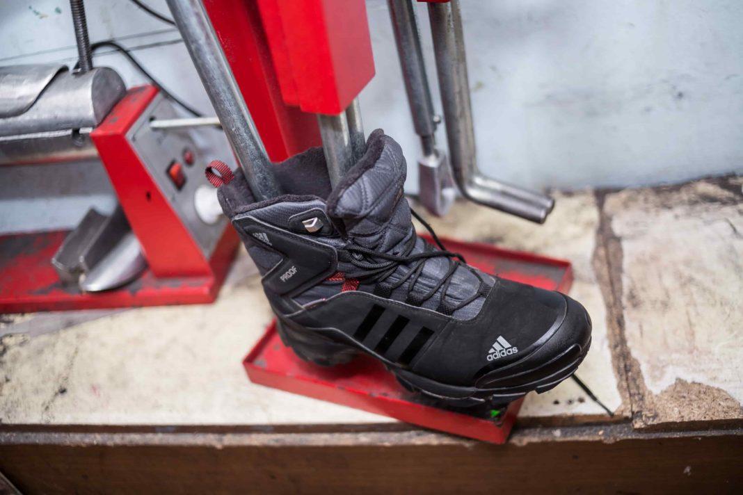 rastyazhka obuvi